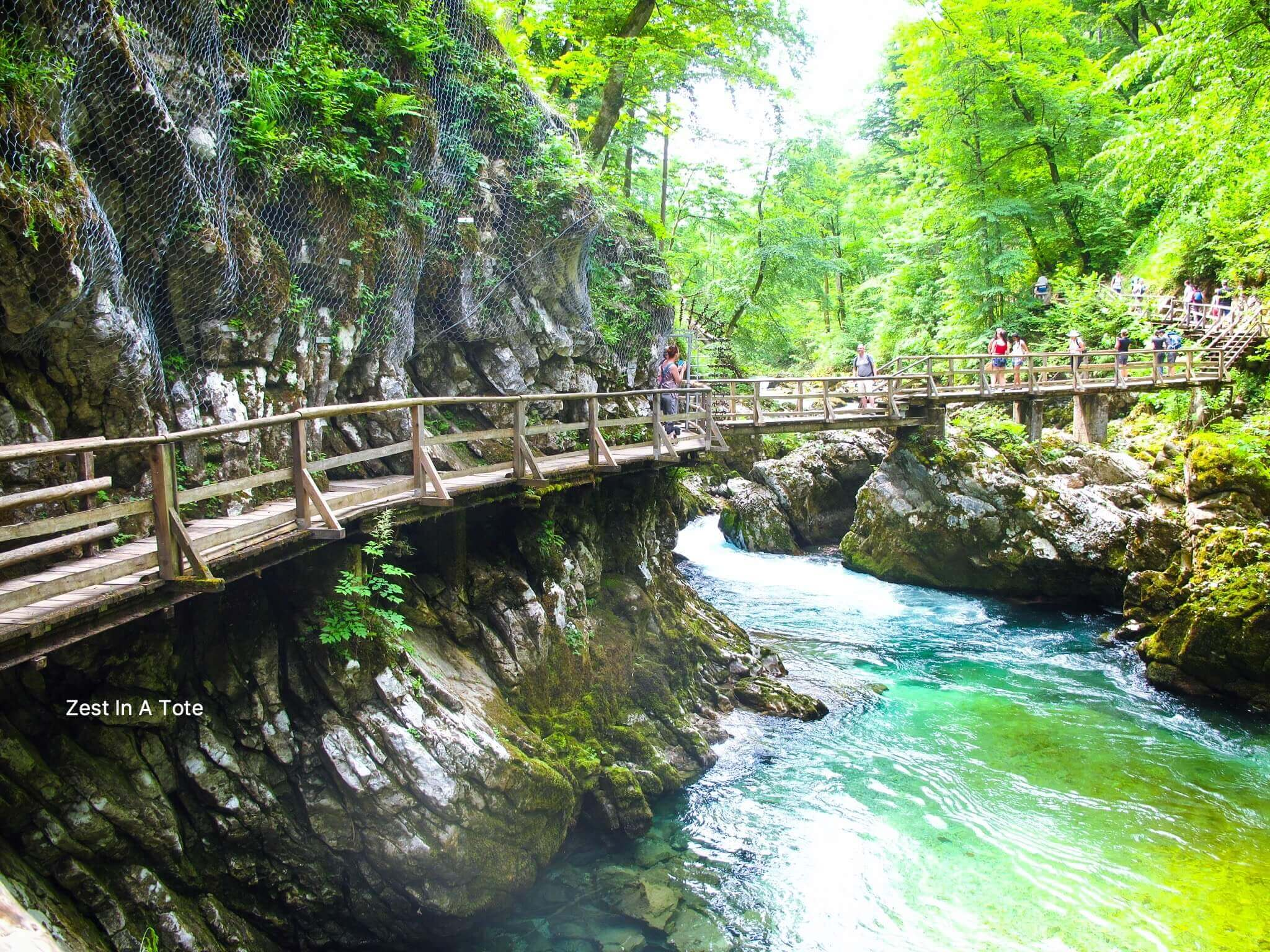 take a scenic walk in vintgar gorge  easy day trip from